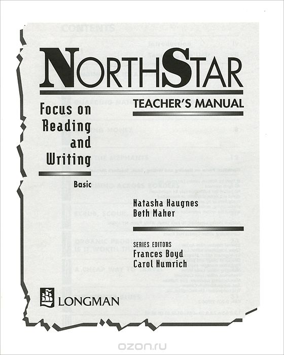 North Star: Focus on Reading and Writing: Basic: Teacher's Manual