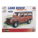 Сборная машина Bburago Land Rover Defender 110