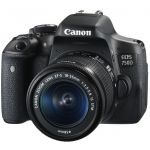 Canon EOS 750D 18-55 IS STM + 50 IS STM (черный) EOS 750D 18-55 IS STM + 50 IS STM (черный)