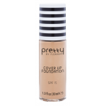 Тональная основа Flormar Pretty Cover Up Foundation 001 (Цвет 001 Porcelain variant_hex_name E8B193)