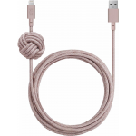 Native Union Night Cable USB - Apple 8pin 3м (розовый) Night Cable USB - Apple 8pin 3м (розовый)
