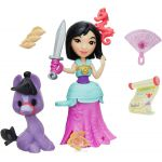 Disney Princess Набор фигурок Mulan Warrior Adventures B5334_E0236