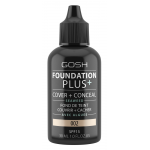 Тональная основа GOSH Copenhagen Foundation Plus+ SPF15 002 (Цвет 002 Ivory variant_hex_name DCB399 Вес 20.00)
