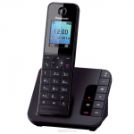 Panasonic KX-TGH220 RUB, Black DECT-телефон