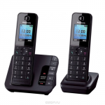 Panasonic KX-TGH222 RUB, Black DECT-телефон