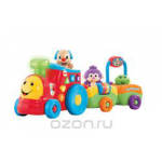 Fisher Price Смейся и учись Паровозик ученого щенка