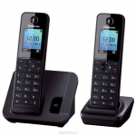 Panasonic KX-TGH212 RUB, Black DECT-телефон