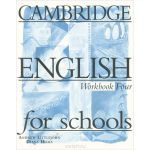 Cambridge English for Schools: Workbook Four