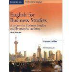 English for Business Studies: A Course for Business Studies and Economics Students: Student's Book