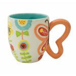 Кружка Flower With Butterfly Handle 25167 540 мл. (1009131)