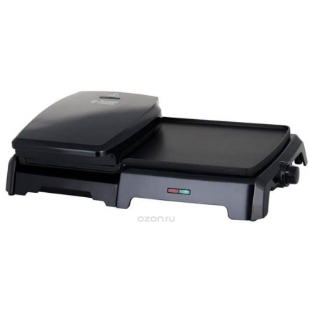 Russell Hobbs 23450-56 Entertaining Grill & Griddle, Black электрогриль
