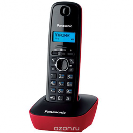 Panasonic KX-TG1611 RUR, Red