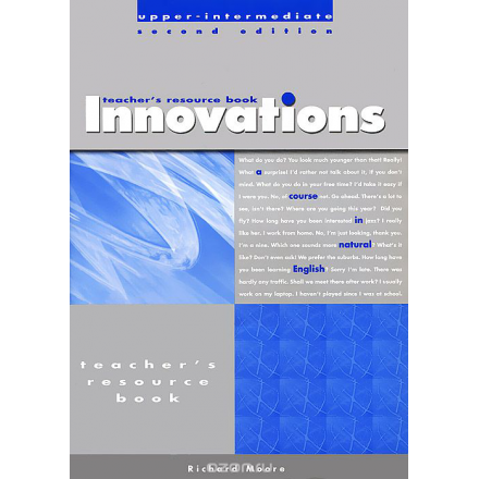 Innovations: Upper-Intermediate: Teacher's Photocopiable Resource