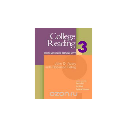 College Reading: Student Text Bk. 3 (English for Academic Success): Student Text Bk. 3 (English for Academic Success)