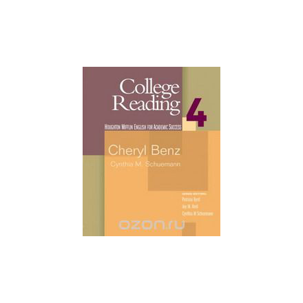 College Reading: Student Text Bk. 4 (English for Academic Success): Student Text Bk. 4 (English for Academic Success)