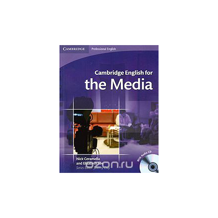 Cambridge English for the Media (+ CD)