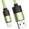 Кабель Liberty Project USB – Apple Lightning 0L-00030354 Green