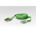 Аксессуар iQFuture Lightning to USB Cable for iPhone 5/iPod Touch 5th/iPod Nano 7th/iPad 4/iPad mini IQ-AC01 Green